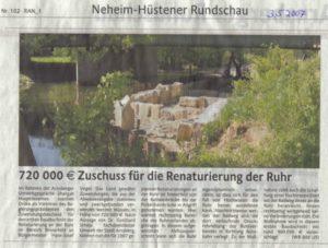 Fischtreppe - 03.05.2007 Westfaelische Rundschau_792x600