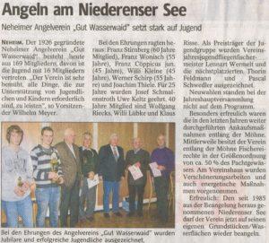 Jahreshauptversammlung - 02.03.2010 Westfaelische Rundschau_663x600